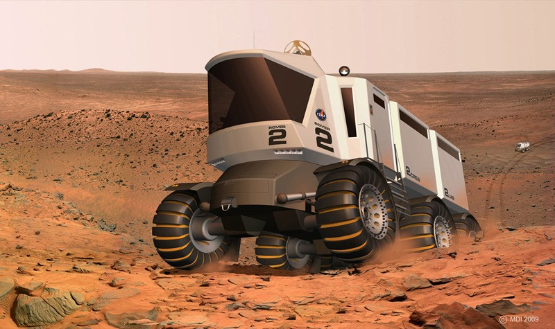 what was the design for the mars rover - photo #26