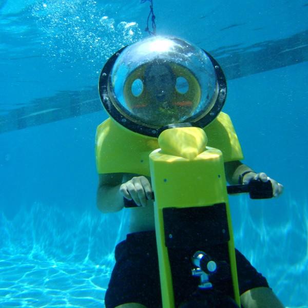 Underwater Scooter Motors Through Life Aquatic Seeker