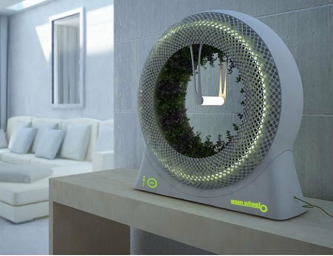 Garden wheel idea came from outer space seeker for Outer space garden design