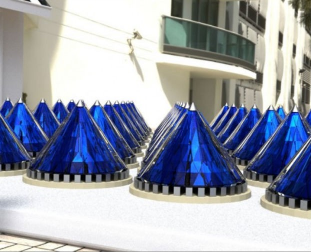 Solar Power Morphs Into Cones And More