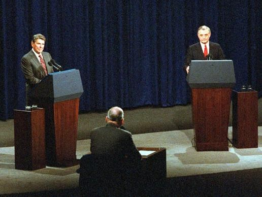 Reagan Vs. Mondale