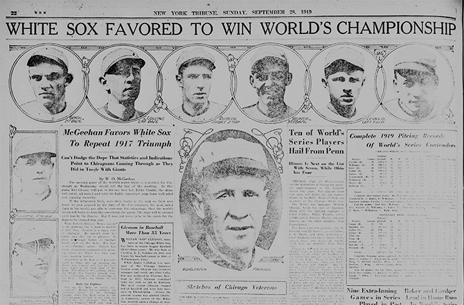 a history of the 1919 chicago white sox controversy Many of the 1919 chicago white sox weren't too fond of their owner, charles  comiskey, who was notorious for being cheap (players were.
