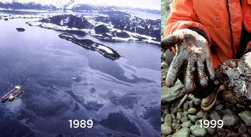 a history of one of the biggest oil spills in us history in 1989