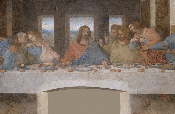 formal analysis of the last supper