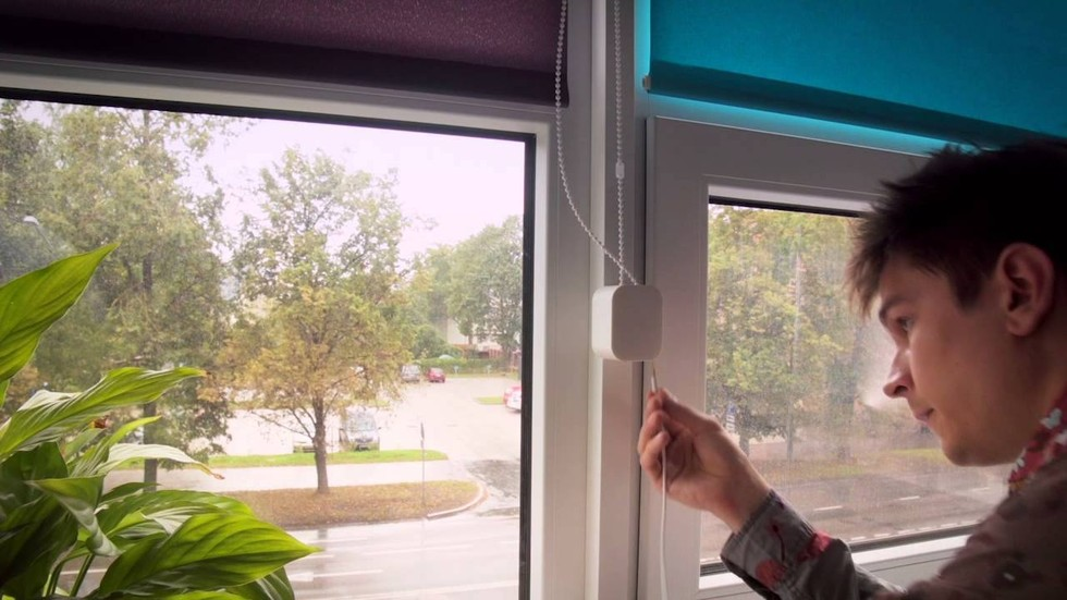 Wazombi Labs controls your blinds with Soma shades.