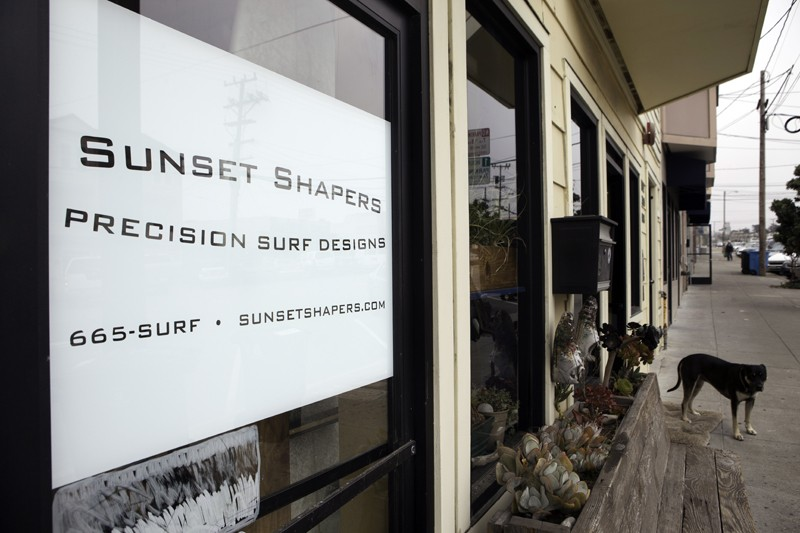 Scenes Of The City Handmade Surfboards At Sunset Shapers