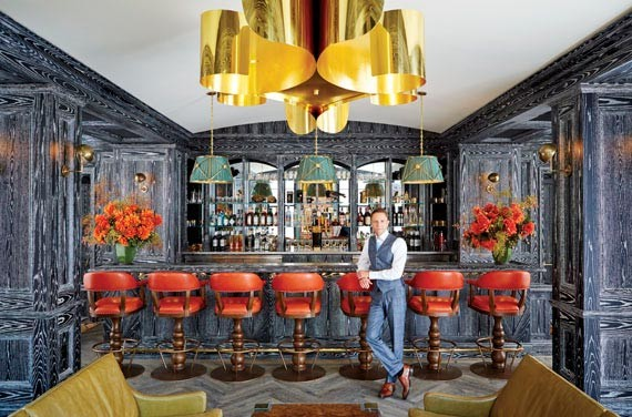 Ken Fulk In Musto Bar Designed By Fulk And The Battery