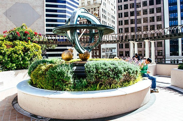 13 Hidden Gardens In The Financial District 7x7 Bay Area