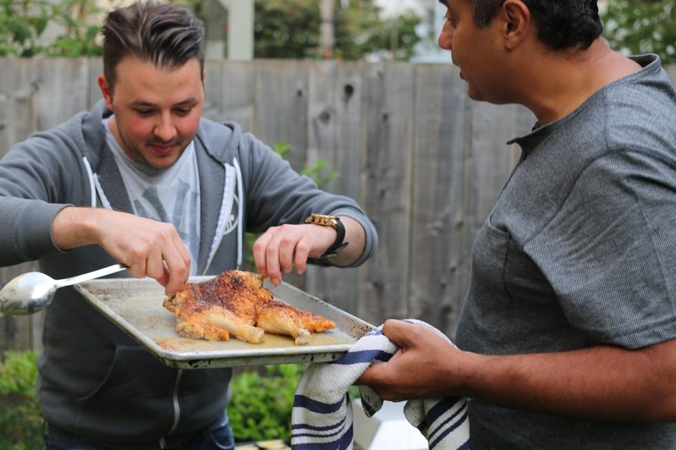 Test Kitchen Chef the mina test kitchen serves up fresh flavors in first pop-up