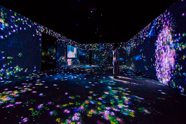 this fantastical digital exhibit at menlo park s pace art