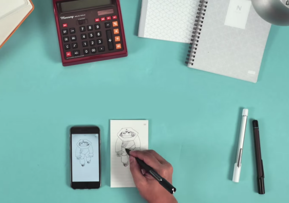 The Neo Smartpen Merges Pen and Paper with the Digital Realm