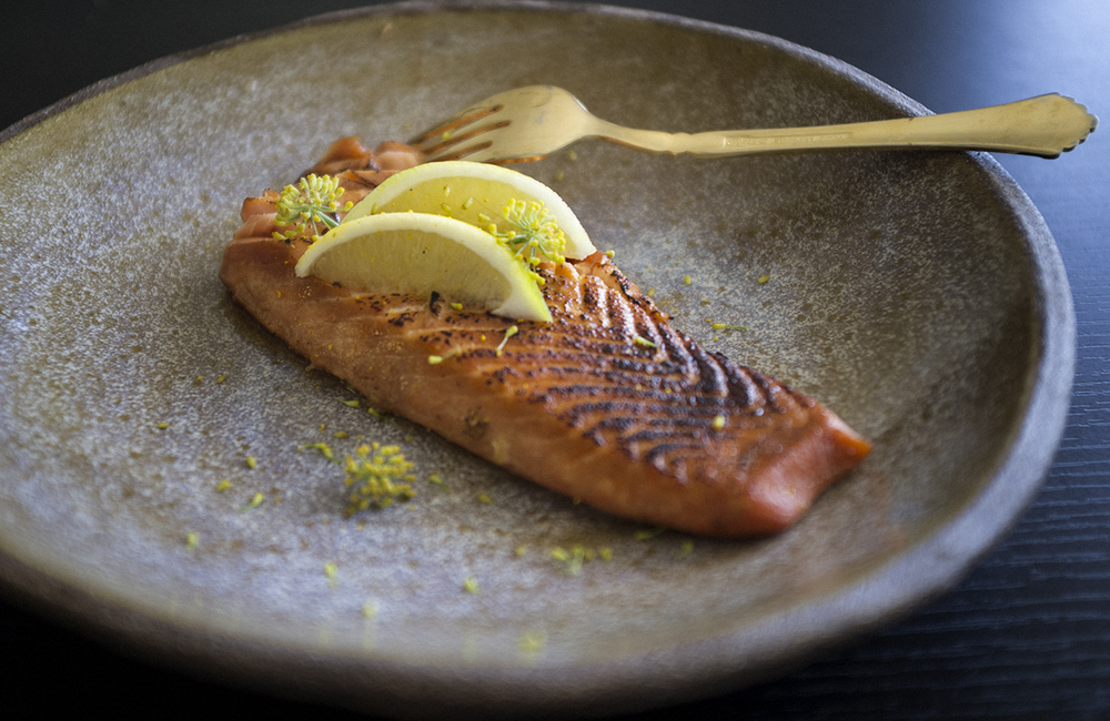This Honey-Blazed Salmon Is A Healthy Way To Cook with Cannabis