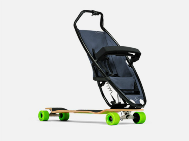 The Longboardstroller Is Exactly What It Sounds Like