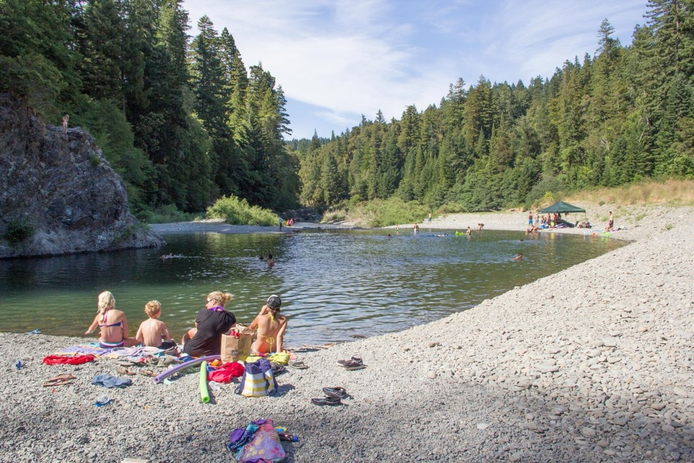 14 Incredible Swimming Holes in Northern California - 7x7