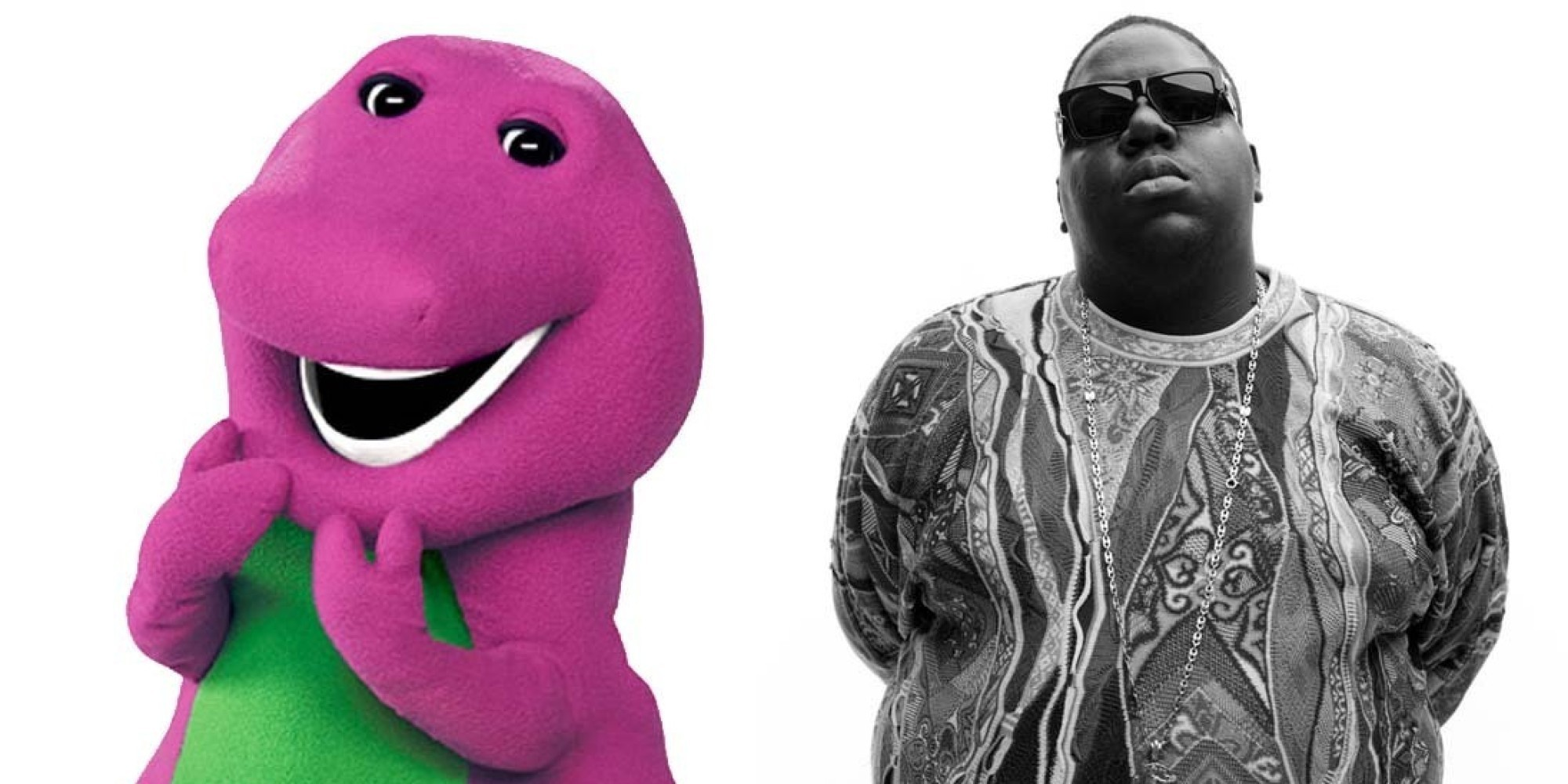 You'll Never Look At Barney The Same After You Watch This Notorious B.I.G. Big Poppa Mashup