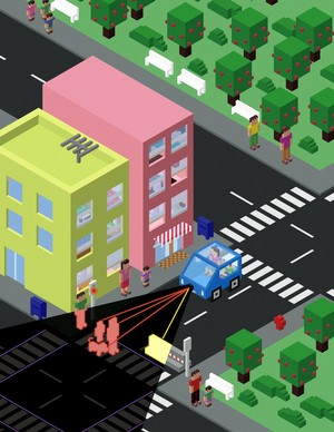When Self-Driving Cars Crash: Who Lives?