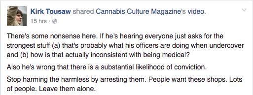 Toronto's Cannabis Activists Respond To The Latest Dispensary Raids