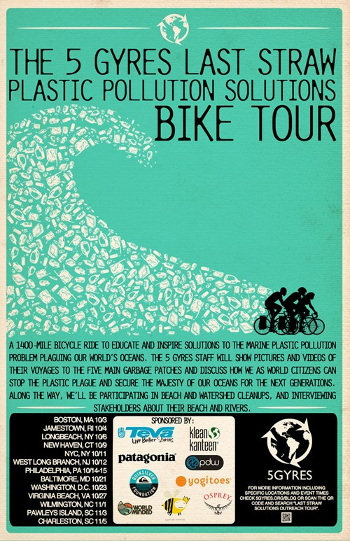 Bike Tour Exposes How Plastic Pollution Is Destroying Our