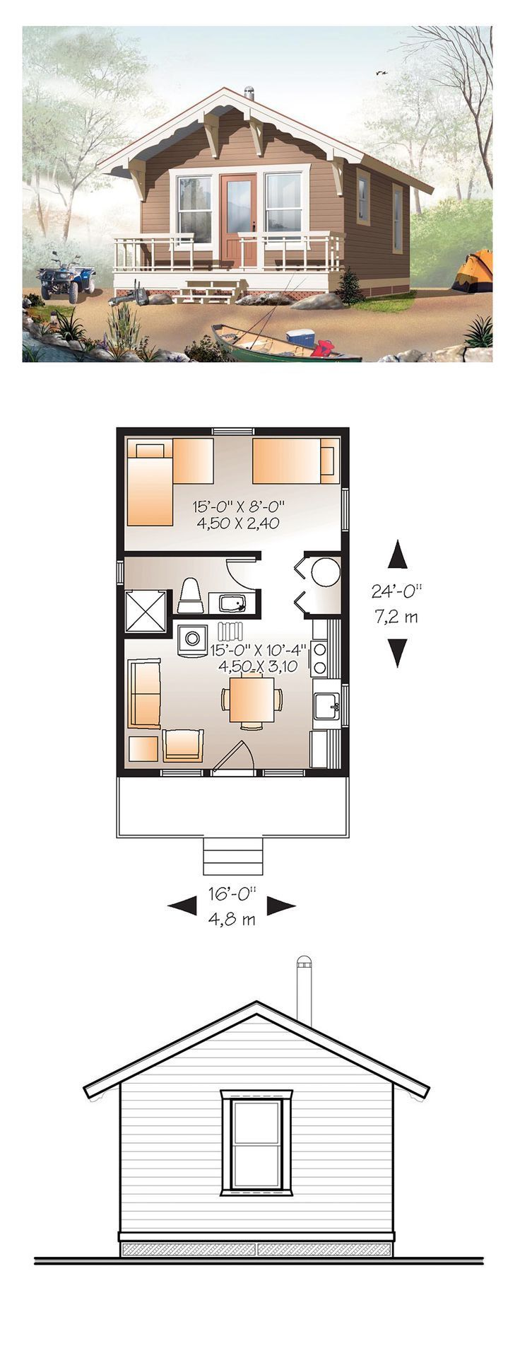 Big plans for tinyhouses the snug for Tiny house plans