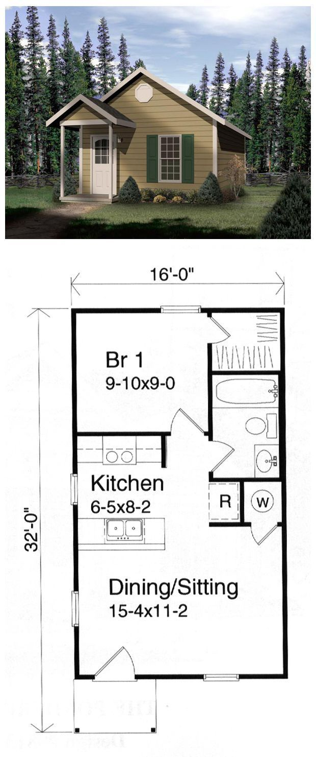 Pic Of Small House 980 Sq Ft Cottage Joy Studio Design