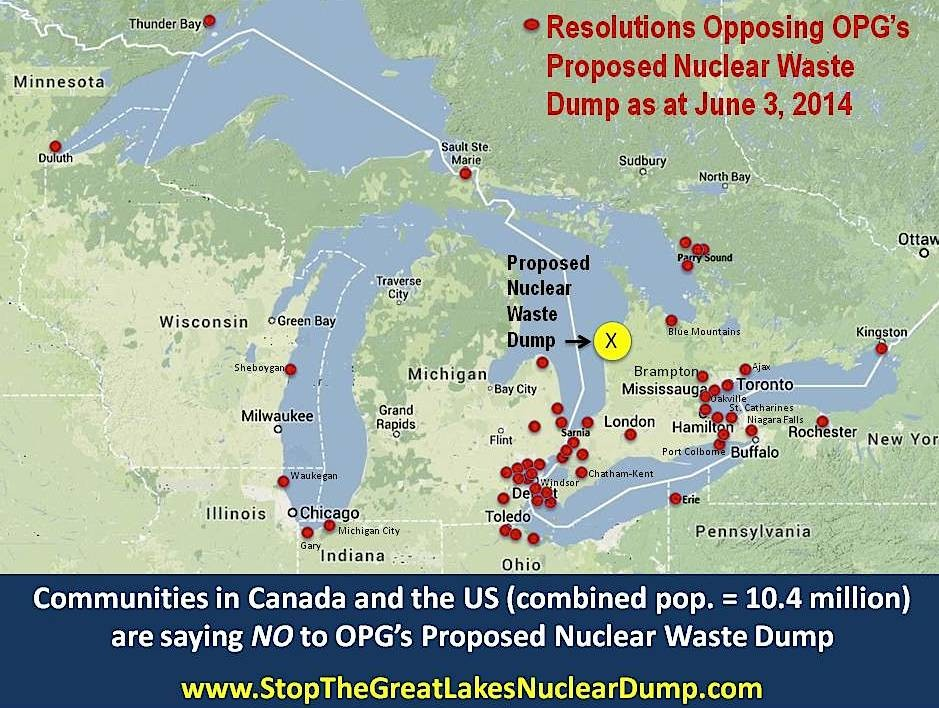 Great Lakes Communities Struggle in Fight Against Proposed Nuclear
