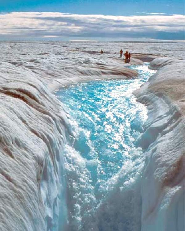 New Satellite Maps Show Worlds Major Ice Caps Melting at