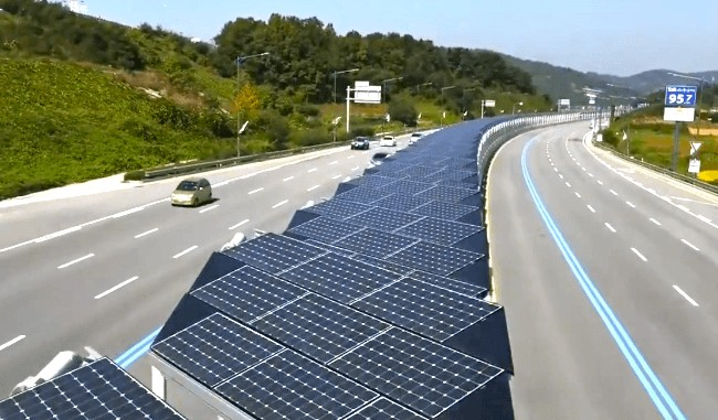 20 Mile Bike Lane Is Also Massive Solar Array Ecowatch