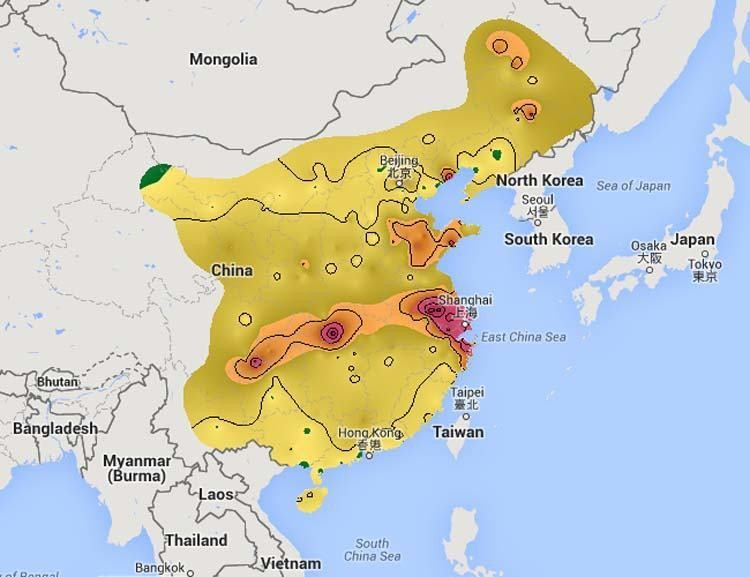 real time map reveals chinas deadly air pollution