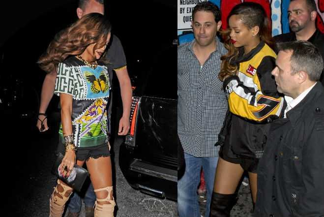 "Rihanna Is Addicted to ""Pretty Woman"" Boots"