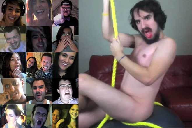 Chatroulette Wrecking Ball Performance Is A Masterpiece To Behold….