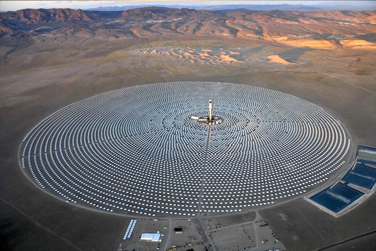 World S First 24 7 Solar Power Plant Powers 75 000 Homes