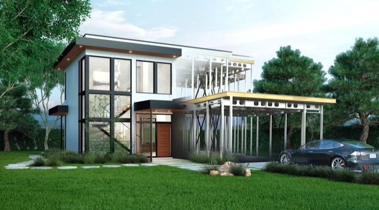 Stanford Professor's New Zero-Net Energy Home Sets the Standard for on
