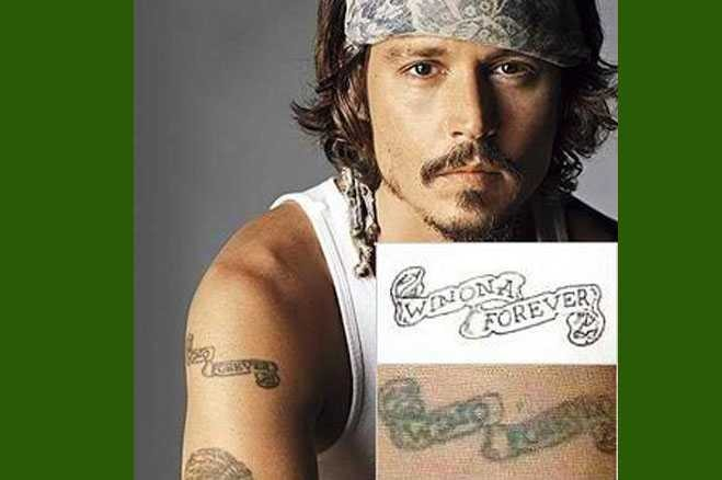 Celebrity tattoos spelled wrong
