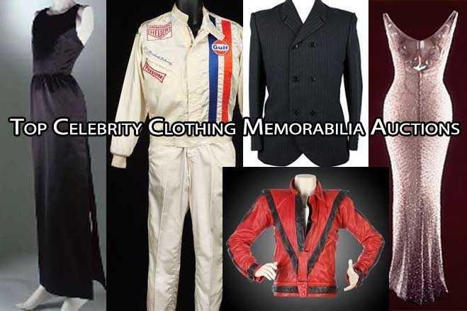 Celebrity Memorabilia Auctions; Movie, Music ...
