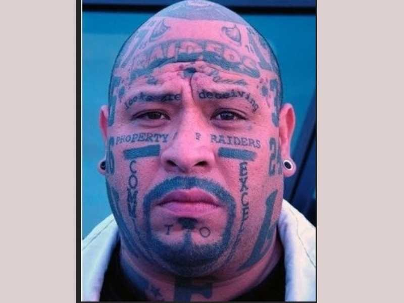 be8bf005e3a2e Think Before You Ink! Horrendous Bad Face Tattoos Gallery - Popdust