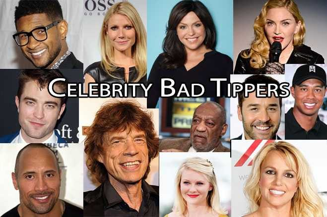 Topsi News: Best and Worst Celebrity Tippers photos