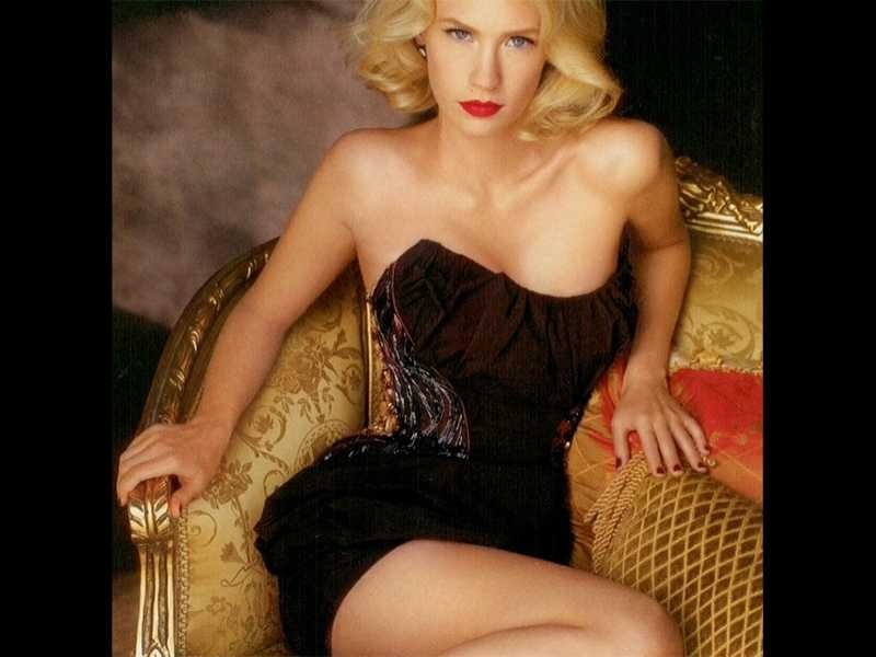 January Jones' Sexiest, Naked And Nearly Nude Photos - Popdust