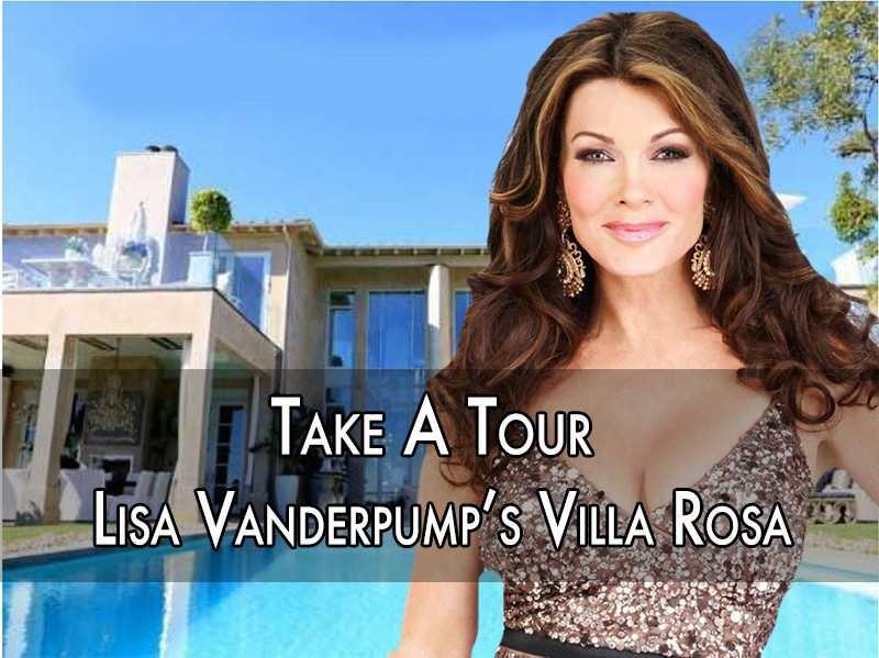 House Tour Tuesday Lisa Vanderpump S Absolutely Fabulous Villa Rosa Popdust