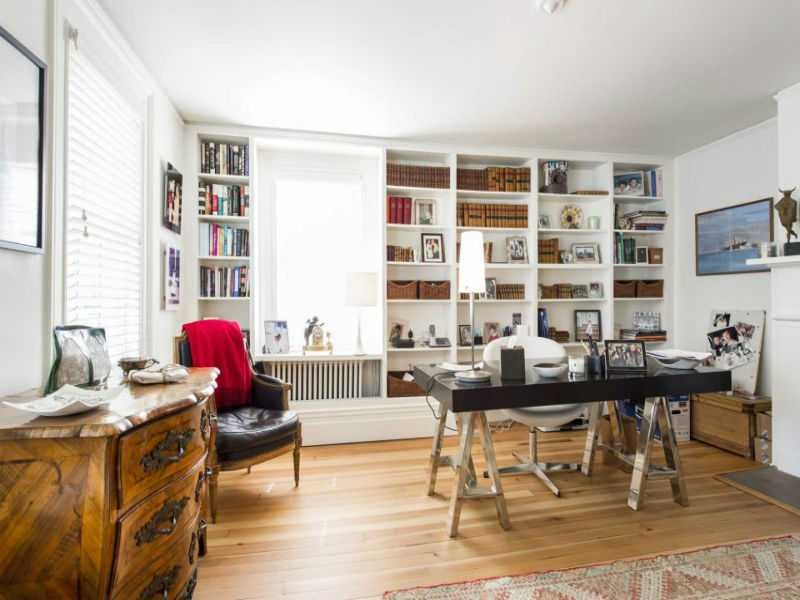 Office of Luann de Lesepps in her Sag Harbor home
