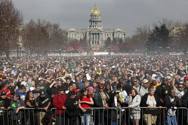 Denver Hotel Bookings Up 60% for 4/20