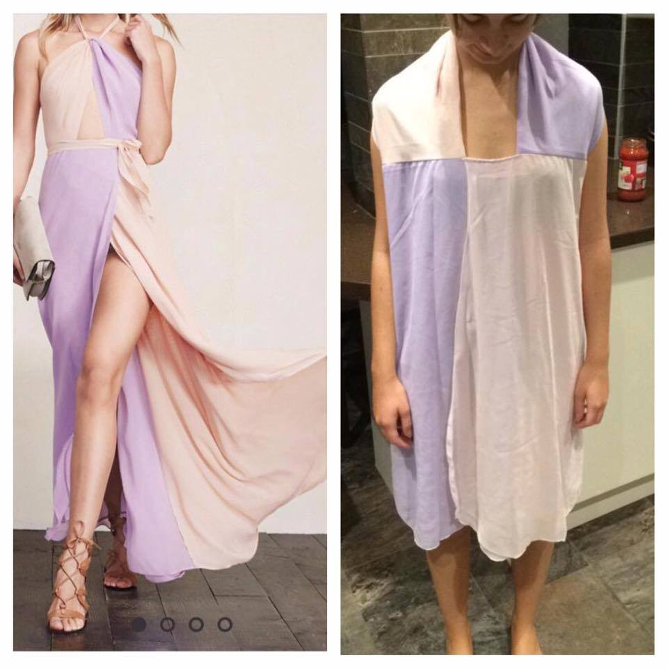 Terrible knockoffs that show why you should never order for Ordering wedding dresses online