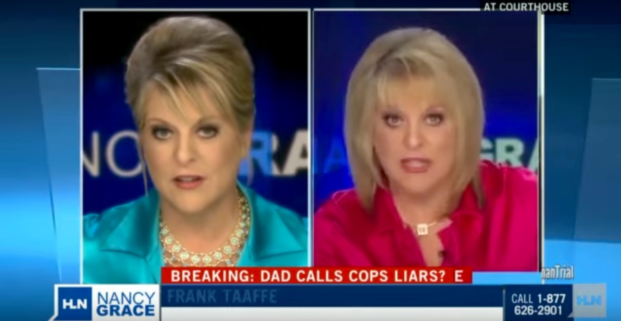 Watch: Nancy Grace Debates Nancy Grace About What Marijuana Does To People