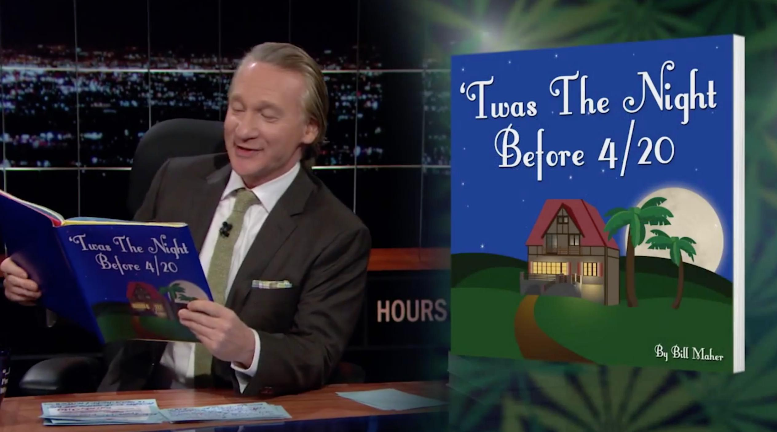 Bill Maher is Using Change.org to Make 4/20 an Official Holiday