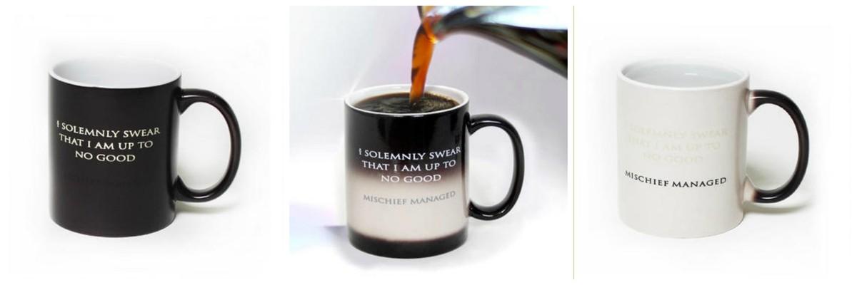 Coffee Mugs That Change With Heat Coffee Drinker