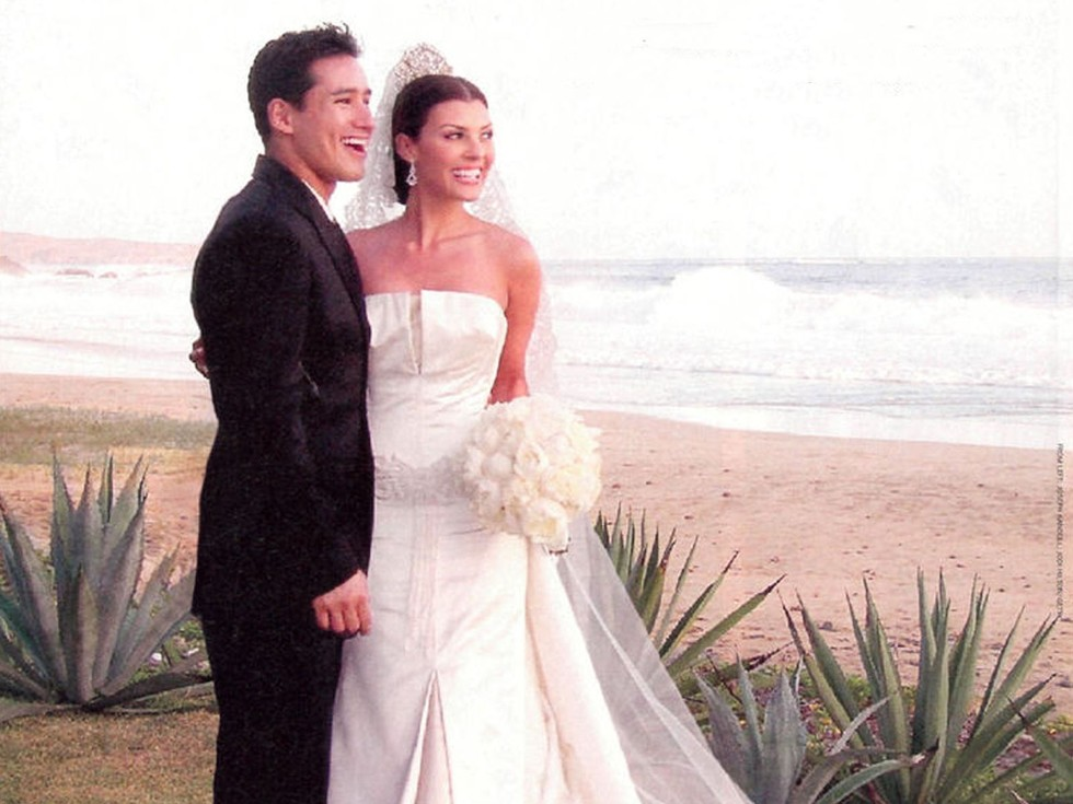 Mario Lopez and Ali Landry—2 weeks