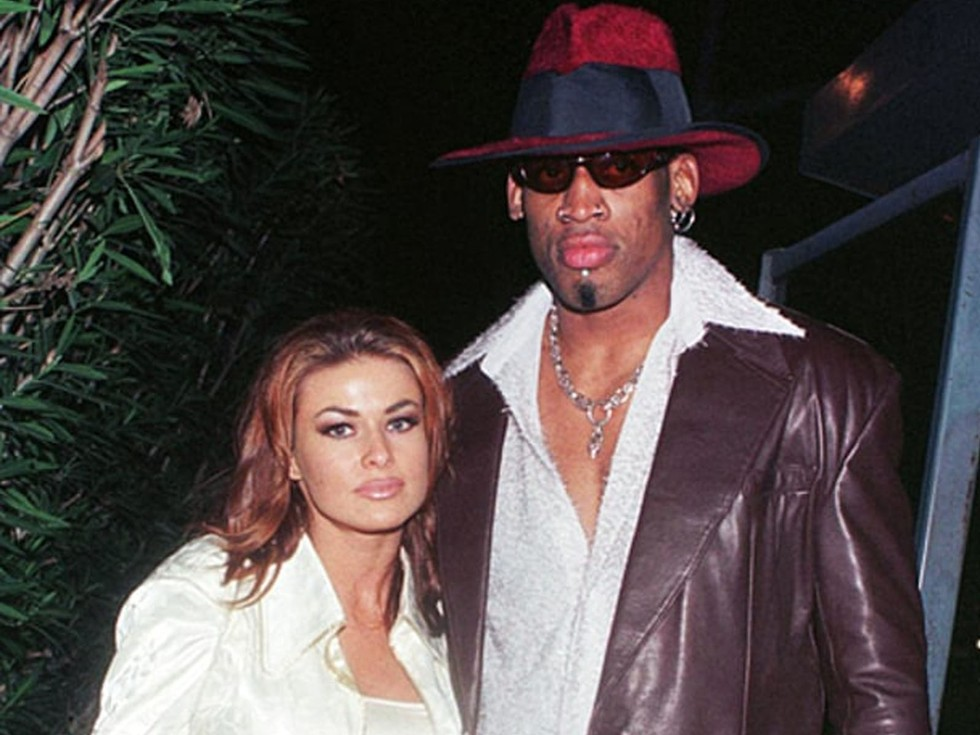Carmen Electra and Dennis Rodman—6 days