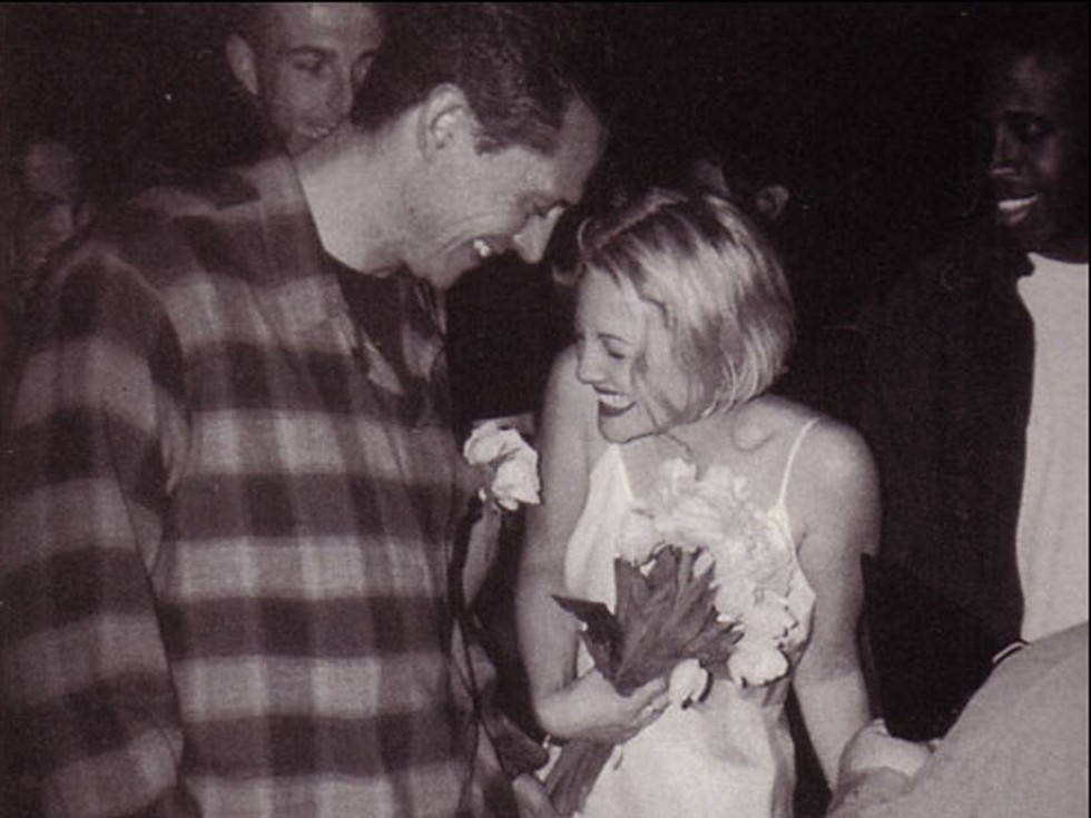 Drew Barrymore and Jeremy Thomas—1 month