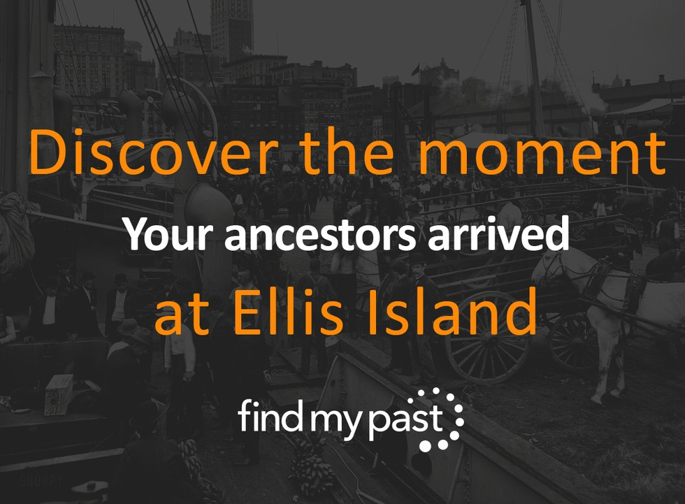 New York Passenger Lists Arrivals Findmypast Genealogy Ancestry History Blog From Findmypast