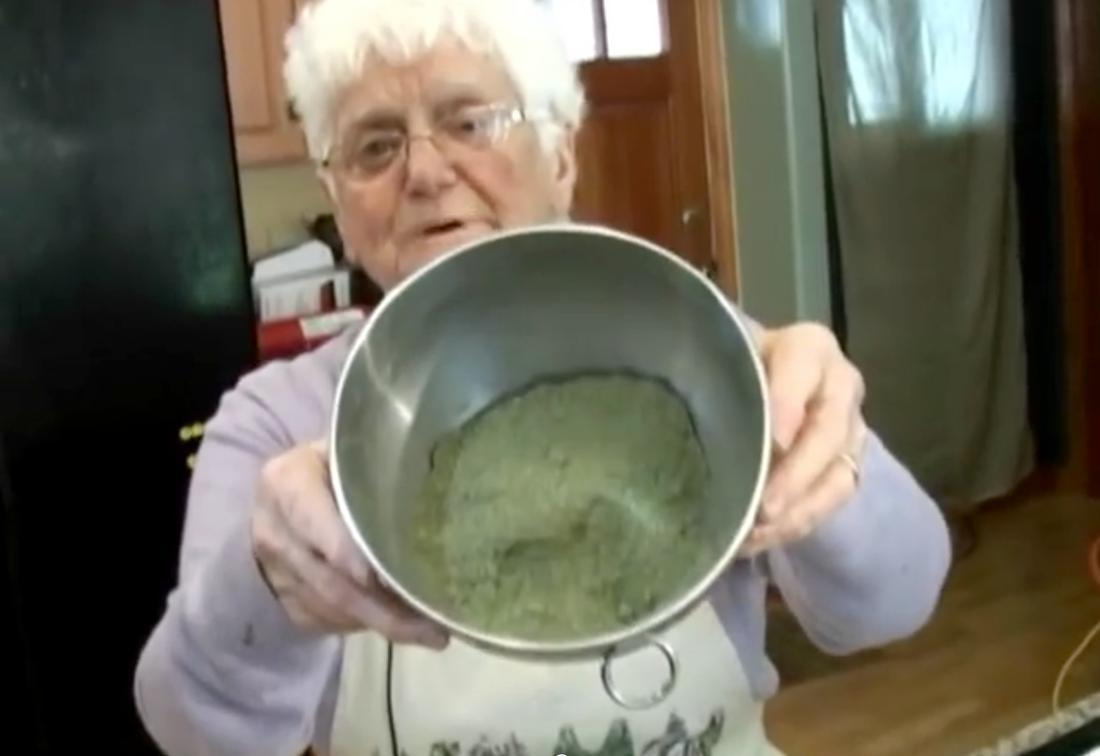 This 91-Year Old Woman Cooks With Cannabis Like a Champ