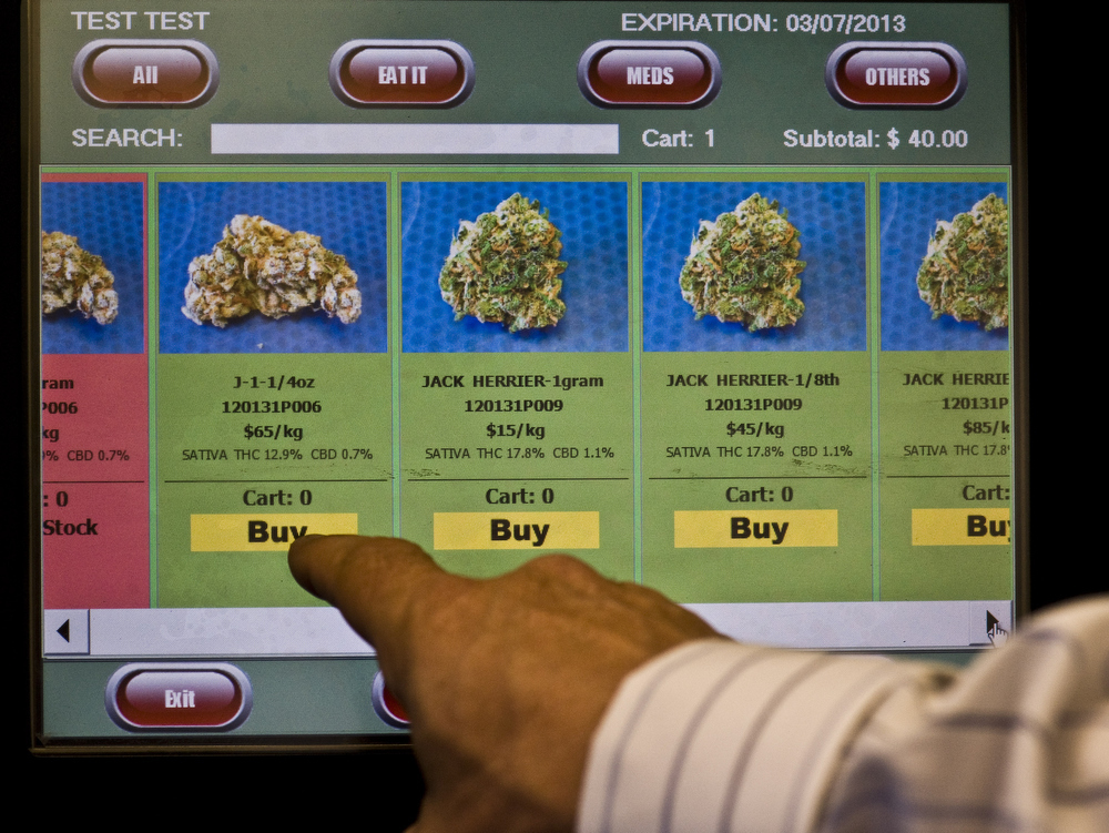 WATCH: Marijuana Can Now Be Purchased From A Vending Machine